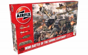 Airfix A50178 WWI Battle of the Somme Centenary Gift Set