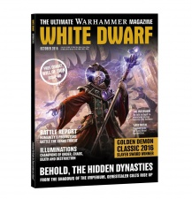 WHITE DWARF magazyn 10-2016 + Komiks WILL OF IRON