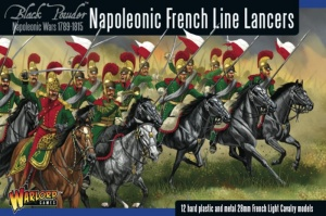 WARLORD GAMES 302012003 Napoleonic French Line Lancers