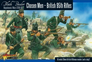 WARLORD GAMES WGN-BR-04 Chosen Men - British 95th Rifles