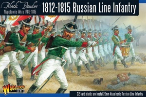 WALROD GAMES WGN-RUS-02  1812-1815 Russian Line Infanyrt