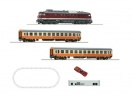 ROCO 51301 Start Set osobowy Lokomotywa Diesel BR 132 DR z21 start DCC Sound