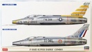 HASEGAWA 02200 F-100D SUPER SABRE COMBO U.S. AIR FORCE AND FRENCH AIR FORCE