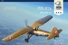 ARMA HOBBY 70005 PZL P.7A Deluxe Set - dwa modele