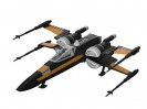 Revell 06763 STAR WARS Poe's Boosted X-Wing Fighter Build & Play