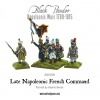 WARLORD 303012001 Napoleonic French Late Line Infanry Command Pack