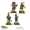 WARLORD 203006003 Lansknecht Officers