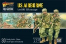 WARLORD 402013101 US Airborne plastic boxed set