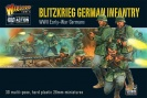 WARLORD 402012012 Blitzkrieg German Infantry plastic boxed set